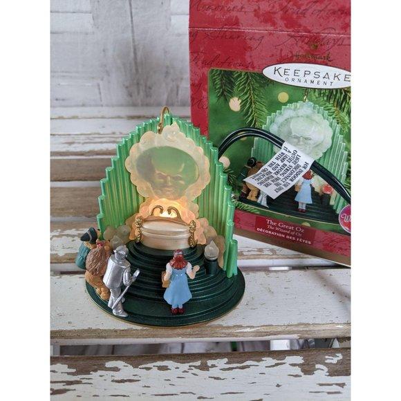 Hallmark Great Oz wizard of ornament Xmas holiday